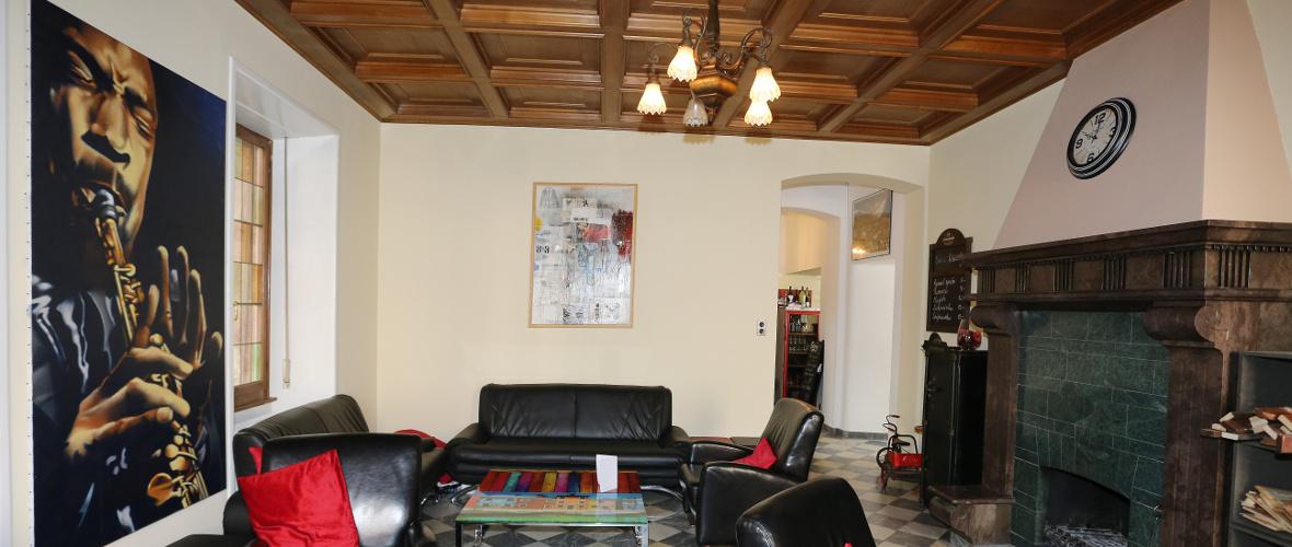 Relaxation dans le Lounge de La Villa